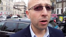 Rachid Boudjema, représentant des taxis marseillais, explique les raisons de la grève du 26 janvier 2016
