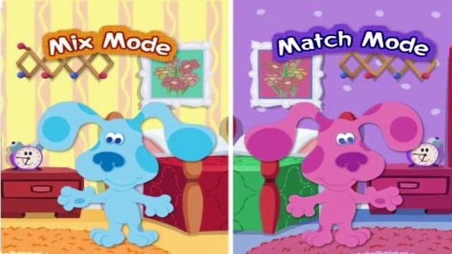 Blues Clues - Mixn Match Dressup - Blues Clues Games