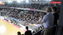 Brest Bretagne Handball. La foule du samedi soir