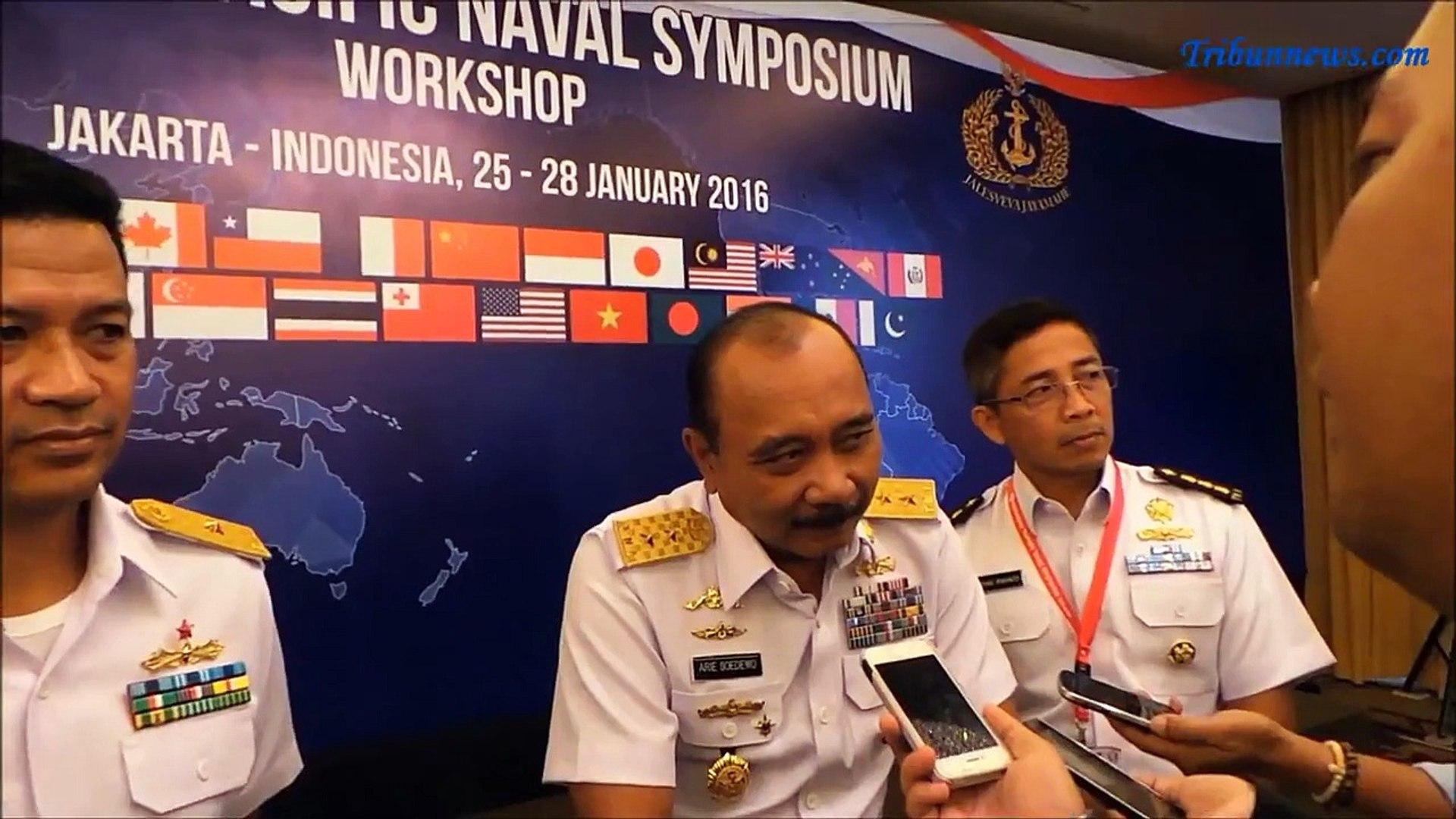 Angkatan Laut dari 27 Negara Berkumpul di Jakarta