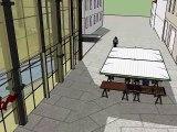 Promenade virtuelle au coeur du quartier des halles