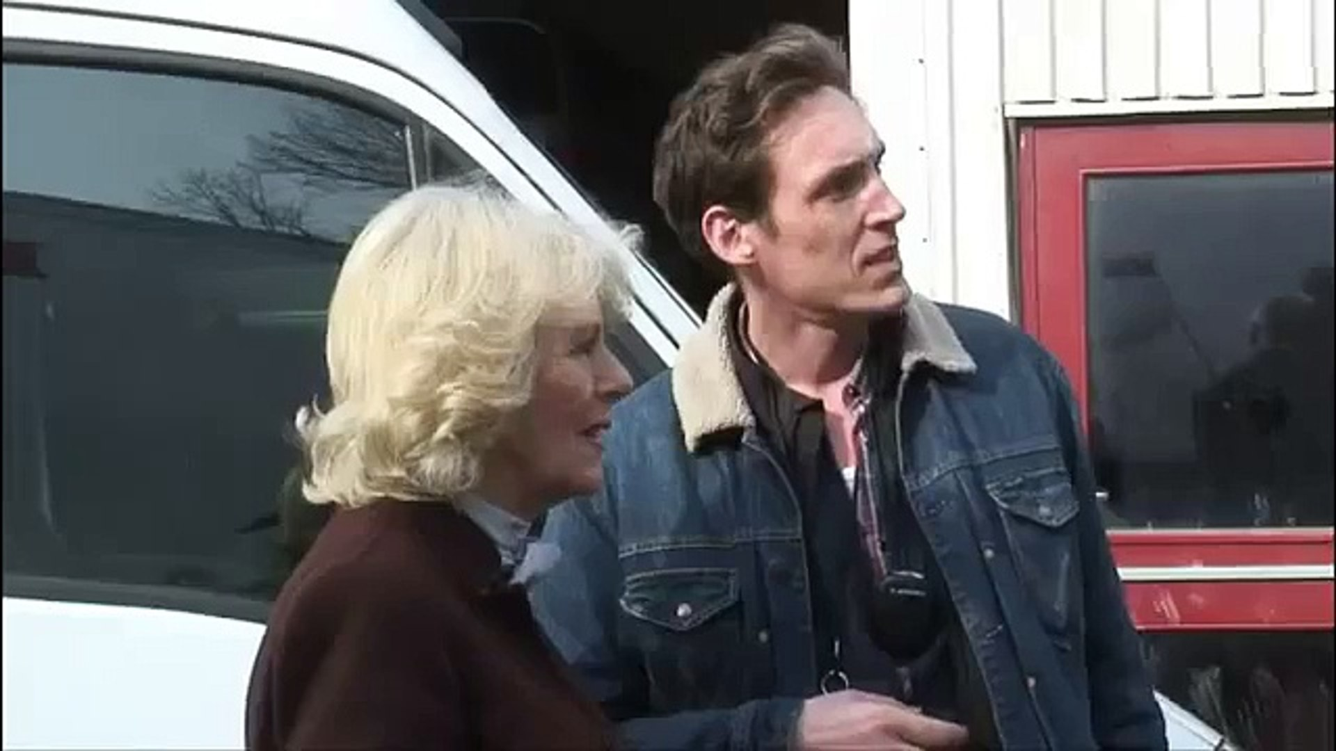 Scandinavia Tour: The Duchess of Cornwall visits the set of The Killing