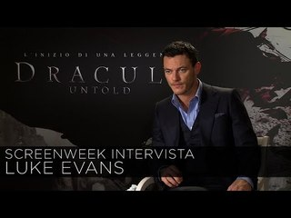 Dracula Untold - Intervista a Luke Evans | HD