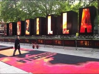 Godzilla European Première London - Highlights