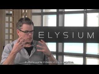 Elysium - Screenweek intervista Matt Damon | HD