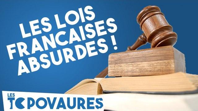 5 lois françaises totalement absurdes