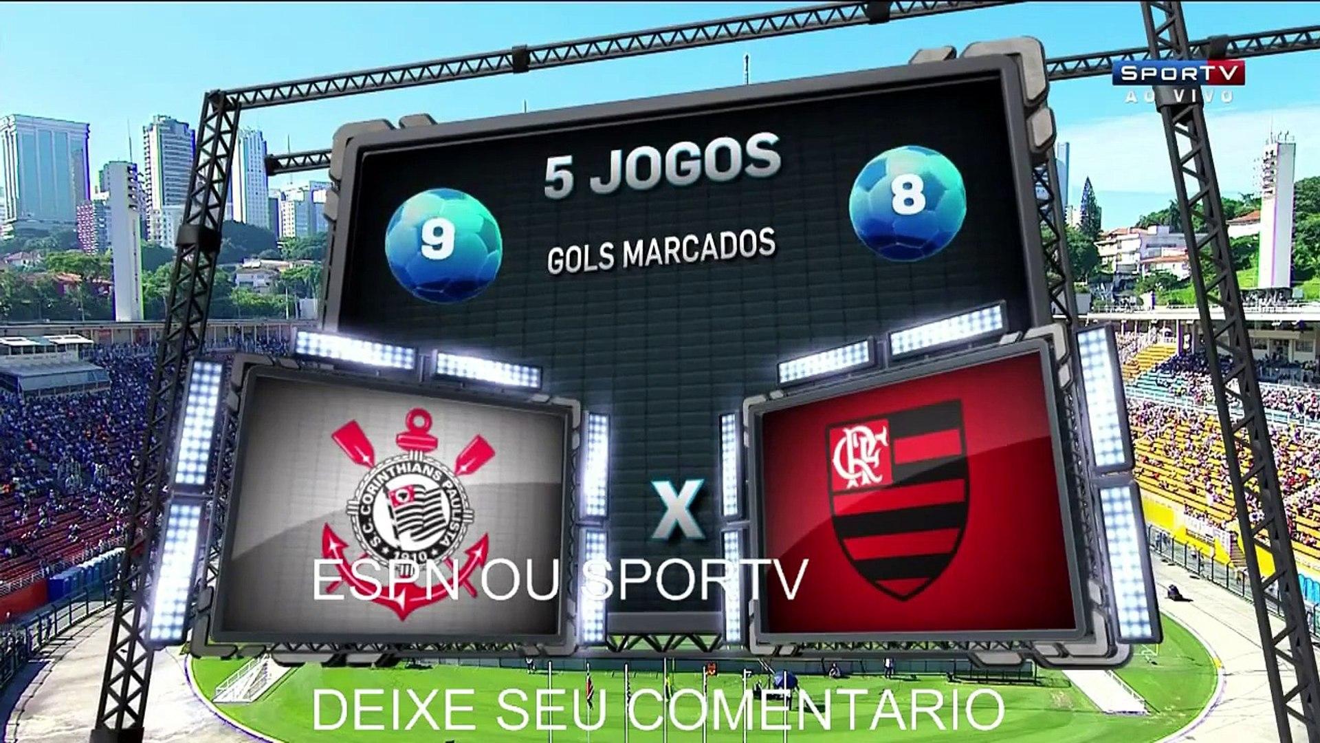 Corinthians 2 (3) x (4) 2 Flamengo Final da Copa São Paulo 2016