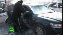 Syrie : 22 morts dans deux explosions à un barrage de l'armée à Homs (images perturbantes)