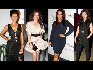 Celebs At Jaguar Couture Evening Fashion Show