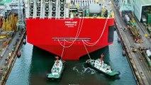 Les plus gros navires du monde - Compilation de monstres marins