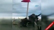 Özel Harekatçılar Türk Bayrağını Cizrede göndere çekti Arif Nihat Asya, Türk Bayrağı, P