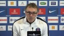 Foot - C.Ligue - PSG : Blanc «Cavani a des grandes chances de jouer»