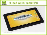 New 9 inch Android 4.4 Allwinner A31S Quad Core Tablet PC with Bluetooth Capacitive Screen Webcam 1GB Ram 8GB Rom-in Tablet PCs from Computer