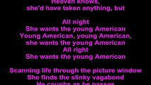 David Bowie – Young Americans Lyrics