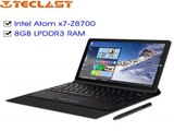 11.6&#39-&#39- Teclast X16 Power tablet pc Windows10+Android 5.1 Intel Cherry Trail Z8700 Quad Core 1920*1080 8GB LPDDR3 64GB eMMC-in Tablet PCs from Computer