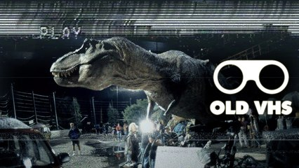 OLD VHS - Jurassic Park