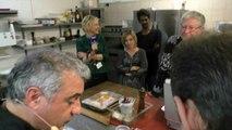 Dans les cuisines de la table du Pouyaud à Champcevinel - journée VIP
