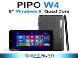 8 PiPO W4 windows tablet Intel 3735G Quad Core IPS 1280x800 RAM 1GB ROM 16GB Dual Cameras WIFI Bluetooth HDMI OTG-in Tablet PCs from Computer