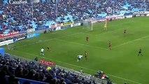 j.22 liga adelante 15/16 Zaragoza 1-Mirandes 2