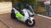 Test scooter BMW C évolution électrique - Pratiks tests