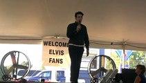 Franz Goovaerts sings 'A Little Less Conversation' Elvis Week 2010