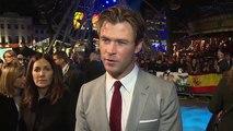 Chris Hemsworth Talks Miley Cyrus and Liam Hemsworth Engagement! (World Music 720p)