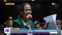 Intervención de la Diputada Manuela Bolivar