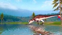 Dinosaurs Cartoon Short Movie - Amazing Dinosaurs Fights And Battles - Dinosaurs Movie For Children