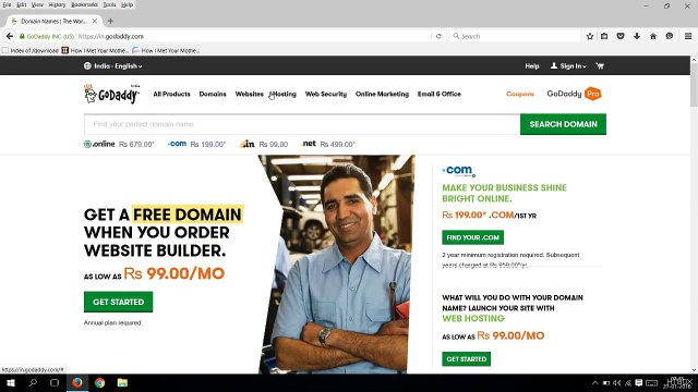 How to Park your domain on godaddy