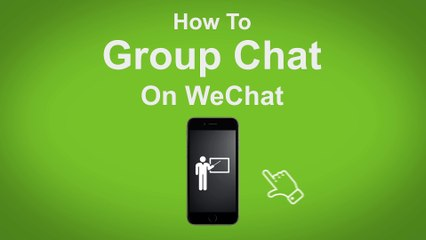 How to Group Chat on WeChat  - WeChat Tip #2