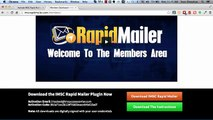 Rapid Mailer, Installing and Configuring