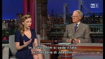 Scarlett Johansson al David Letterman 08 01 2014 (sub ita) Part 2