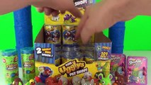 The Ugglys Pet Shop Surprise Cans Full Box Unboxing Toy Review + The Trash Pack Moose Toys
