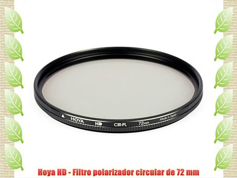 Hoya HD Digital alta transparencia Polarizador Circular Filtro 62mm