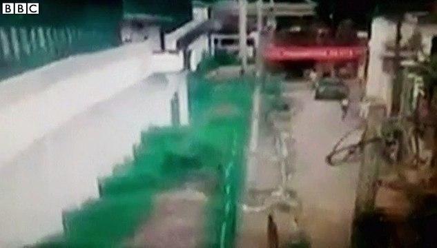 Footage shows Brazil prison escape