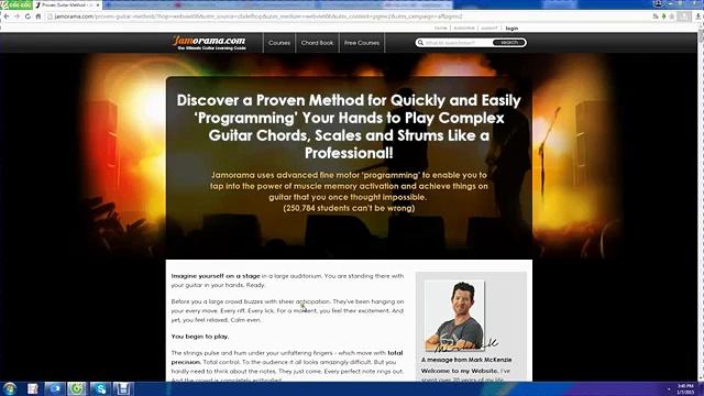 Jamorama – The Ultimate Guitar Learning Guide 2015