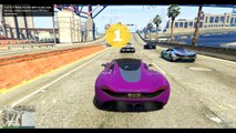 GTA 5 - BAKED BEANS! (GTA 5 Funny Moments and Races!) KYR SP33DY