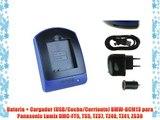 TZ41 Caricabatteria DMW-BCM13 per Panasonic Lumix DMC-FT5 TS5,ZS30 TZ40 TZ37