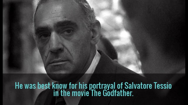 Fast Facts about Abe Vigoda 'The Godfather' actor