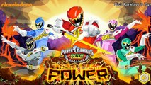 Power Rangers: Dino Charge Unleash The Power ! Power Rangers Games