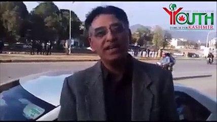 Youth Forum For Kashmir   Zaman Bajwa met Pakistan Tehreek-e-Insaf MNA Asad Umar and interviewed him