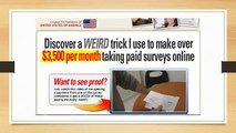 How to Make money on the internet - Take surveys for cash review