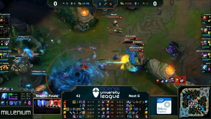 Grande Finale - League of Legends - AUL 2015