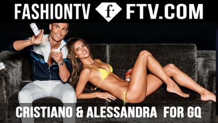 Behind The Scenes GQ Cover Shoot with Alessandra Ambrosio | FTV.com