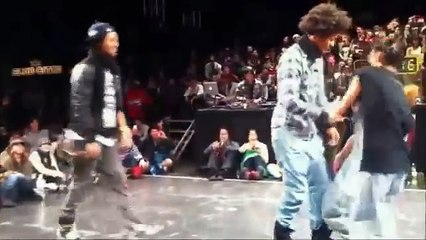 Lustige Hip Hop-Battle
