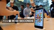 FirstFT - Apple signals iPhone decline, Soros warned off renminbi