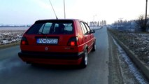 VW Golf MK2 ABF engine conversion - start to finish - video