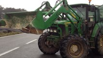 Crise agricole. Blocage à Kervidanou