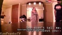 Kocasını başkası ile Aldatırken Yakalanan kadın