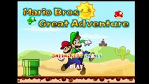 super mario bros great adventure online games - video games - best games for kids